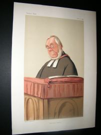 Vanity Fair Print 1874 Rev. James Augustus Hessey